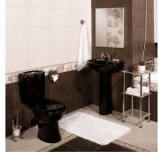 Toalettstol Omega Black