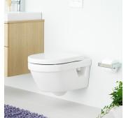 Vägghängd toalettstol Gustavsberg 5G84 Hygienic Flush