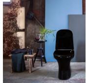 Toalettstol Gustavsberg Estetic 8300 C+ svart