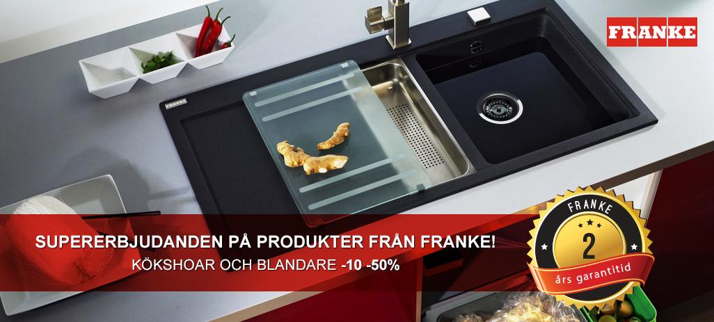Supererbjudanden på produkter från Franke!